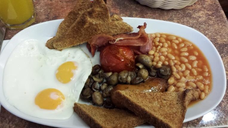 My Breakfast for Dinner in London