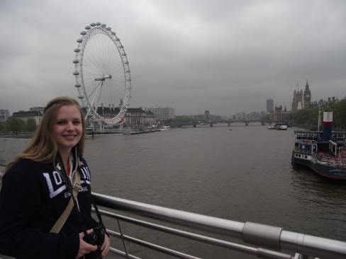 On the Hungerford Bridge